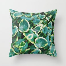 50 Shades of Green (7) Throw Pillow
