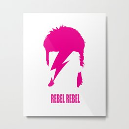 DAVID BOWIE - Rebel Rebel Metal Print