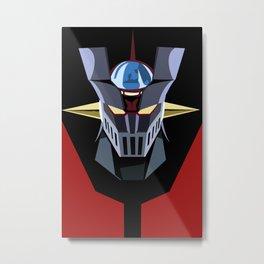 Robot Z Metal Print