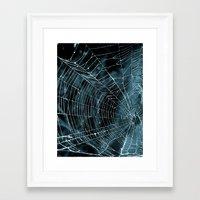 goth Framed Art Prints featuring Goth by Meldawg