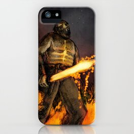 Fire Giant iPhone Case