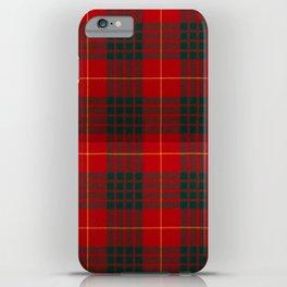 CAMERON CLAN SCOTTISH KILT TARTAN DESIGN iPhone Case