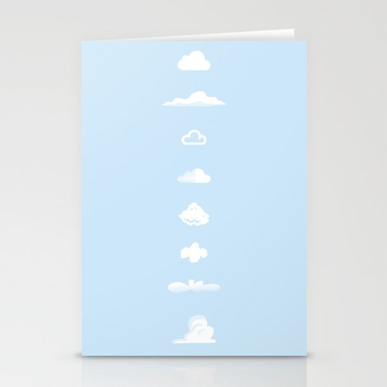Famous Clouds Stationery Cards