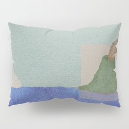 Volcano Meets Iceberg Pillow Sham