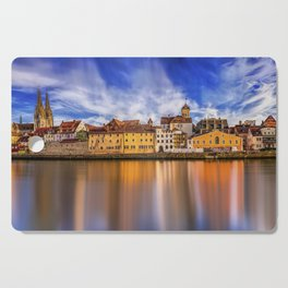 Panoramic Regensburg | Germany Cutting Board