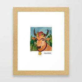 Frida Cowlo Framed Art Print