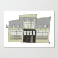 Silkes Cash and Carry, Galway city. Ireland Canvas Print