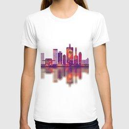 Saitama Japan Skyline T-shirt