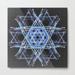 STAR OF DAVID Metal Print