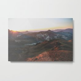 View from Wetterhorn Peak Metal Print