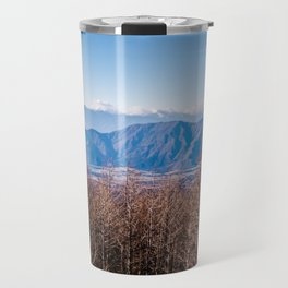 View from Mt Fuji Travel Mug