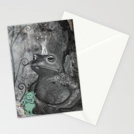 STRANGE DAYS ANGELA! Stationery Cards