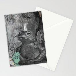 STRANGE DAYS ANGELA! Stationery Cards