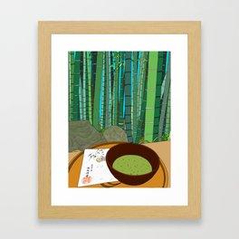Bamboo Temple in Japan Framed Art Print