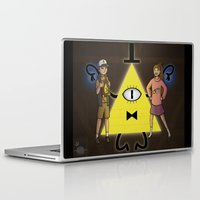 gravity falls Laptop & iPad Skins featuring Gravity Falls by Dee Draws