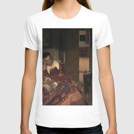 Johannes Vermeer - A Girl Asleep T-shirt