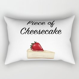 Piece of Cheesecake Rectangular Pillow