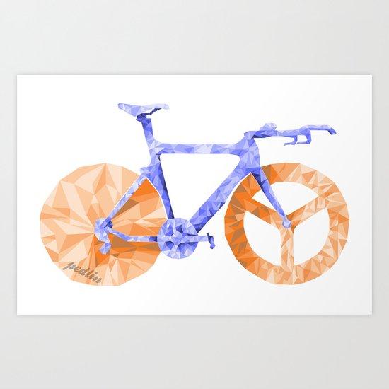 TT Bike Art Print