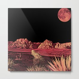 Full Red Rocks Metal Print