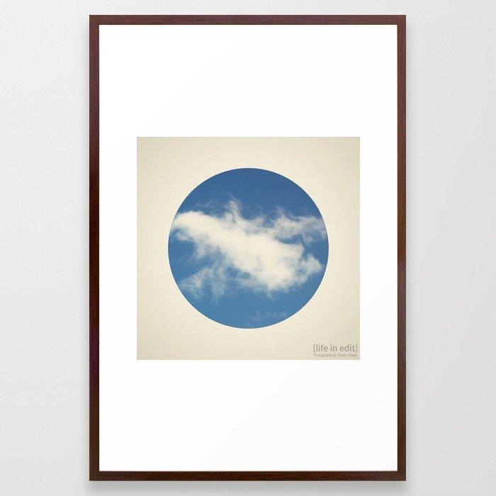 Circular 02 Framed Art Print
