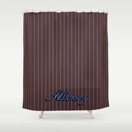 Pinstripe Shower Curtains