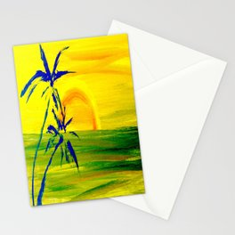 Sunset Island Stationery Cards