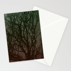 Ombre branches Stationery Cards