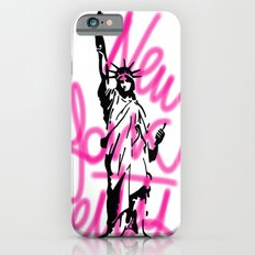 New York City Pink Neon iPhone 6s Slim Case