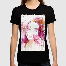 Pink Woman T-shirt