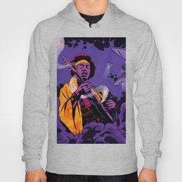 Jimi Hendrix Ufo smoke Hoody