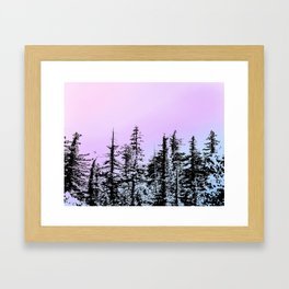 LIGHT WILDERNESS Framed Art Print