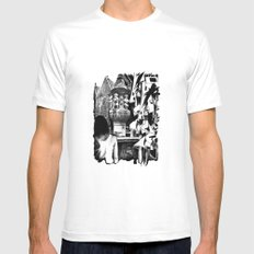 Fontain MEDIUM Mens Fitted Tee White