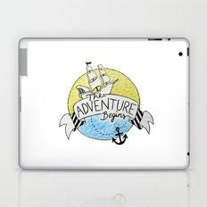 The Adventure Begins Laptop & iPad Skin