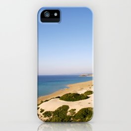 Golden Beach iPhone Case