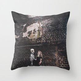 Deathly Love Throw Pillow