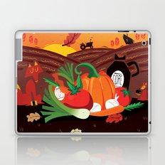 Un après-midi à la ferme : automne Laptop & iPad Skin