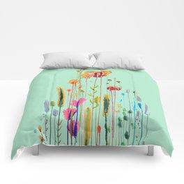 verte campagne Comforters
