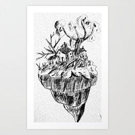 Tiny Home Art Print