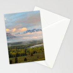 Grand Teton Morning Stationery Cards