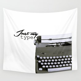 Just My Type Wall Tapestry
