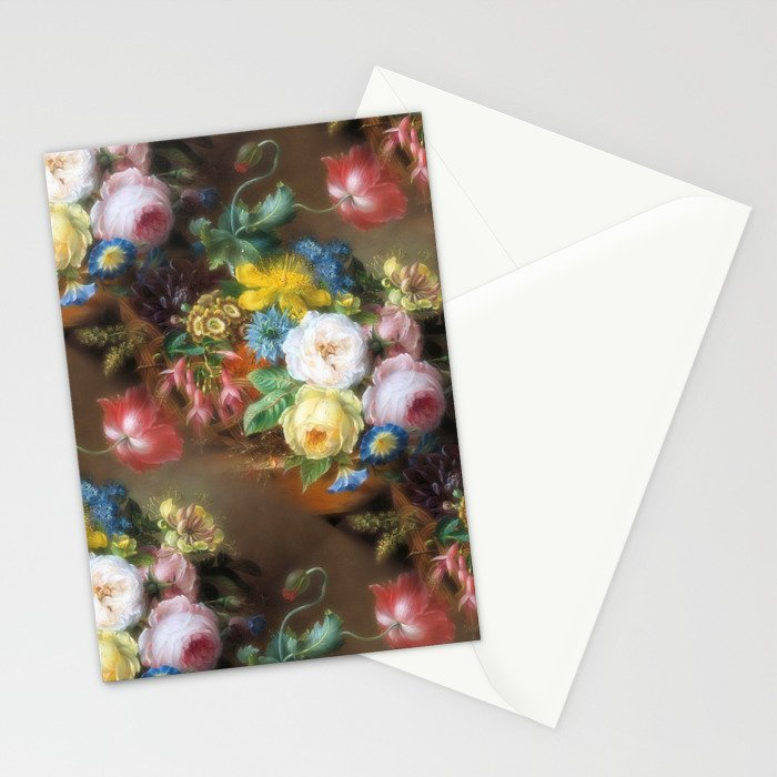 Soft Summer Bouquet Stationery Cards