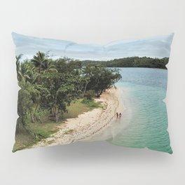 Tropical Beach Vibes in Fiji Islands Pillow Sham