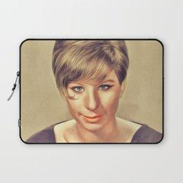 Barbra Streisand, Music Legend Laptop Sleeve