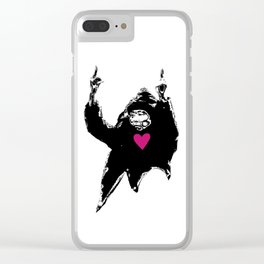 The Birds, Love Passion Equality Clear iPhone Case