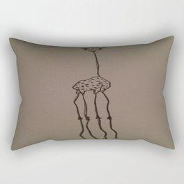 Gangly Giraffe Rectangular Pillow