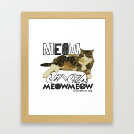 SOXrescue - Meow Chicka Meow Meow Framed Art Print
