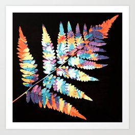 Fern in disguise - autumn Art Print