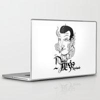 django Laptop & iPad Skins featuring Django Reinhardt by Christiano Mere