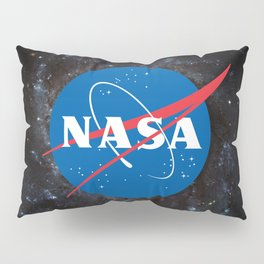 Nasa shirt Officially Licensed NASA Logo gift ideas Pillow Sham