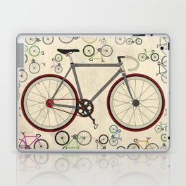 Love Fixie Road Bike Laptop & iPad Skin